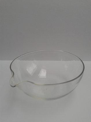 Capsule ancienne verre soufflé,chimie.