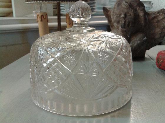 Cloche en verre moulé. Ref.0665