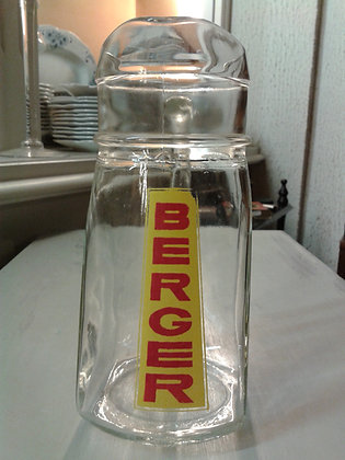 Carafe verre Berger. Ref.0631