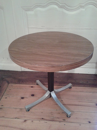 Table basse ronde années 70