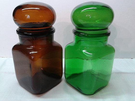 Bocaux en verre Ariel 1970. Ref.0761