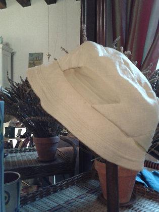 Petit chapeau femme beige. Ref.S0007