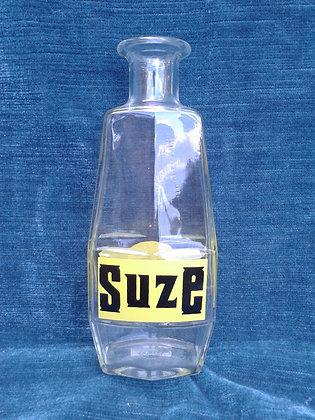 "Carafe ""Suze"" en verre. Ref.0499"