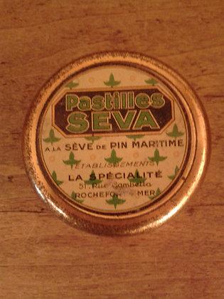 Petite boite pastilles Seva. Ref.0443A