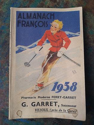 Almanach François 1938