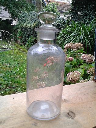 Flacon ancien en verre. Ref.0011
