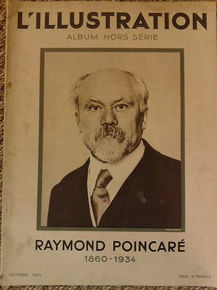 L'illustration mort Raymond Poincaré. Ref.0611