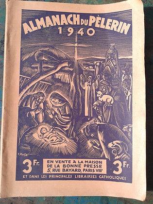 Almanach du pèlerin 1940