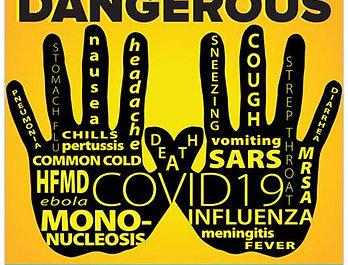 """""""Dangerous Hands"""" Decal"""