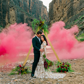 Julia & Marcus Big Bend Elopement