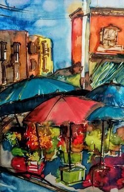 Kensington Market Rainy Day