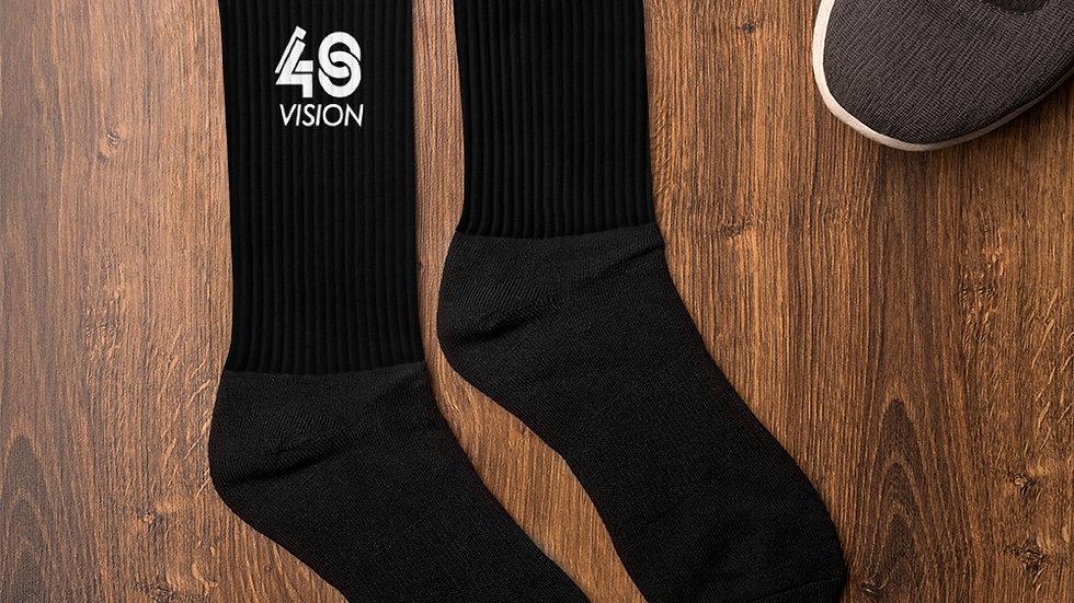 40 Black Socks