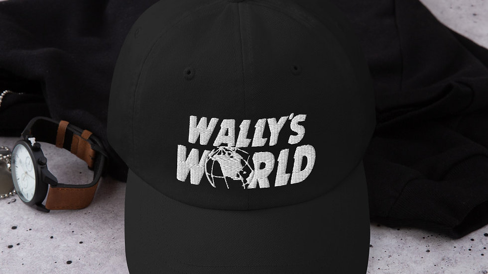 Wally's Dad hat (White)
