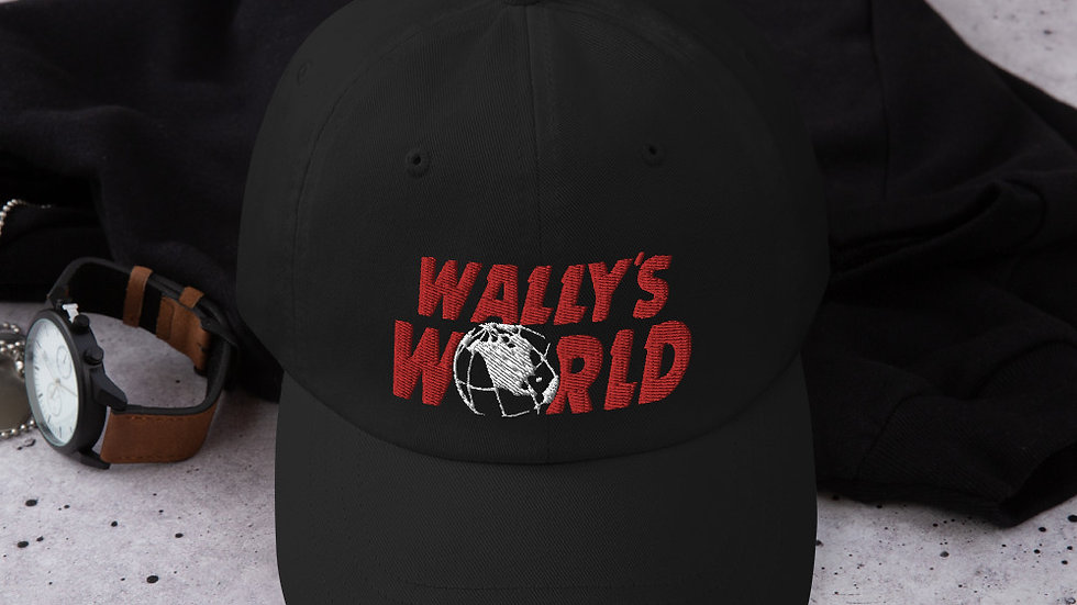 Wally's Dad hat (Red)