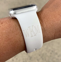 Engraved Apple Watch Band