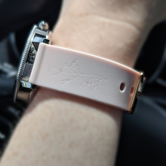 Engraved Watchband
