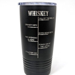 Engraved Whiskey Cup
