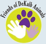 Friends of DeKalb Animals Logo