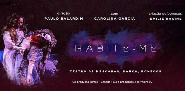 ESPETÁCULO TEATRAL HABITE-ME