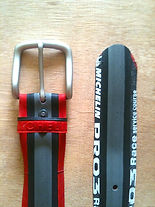 BUCKiT belts - upcycled bicycle tyre belts