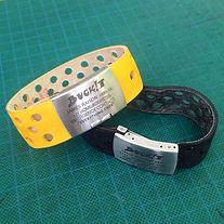BUCKiT belts - upcycled bicycle tyre ICE bracelets