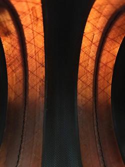 structural makeup with kevlar fabric