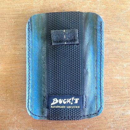 QHUBEKA MINImicro wallet (black/blue)