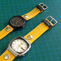 BUCKiT watches - upcycled bicycle tyre watches