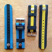 BUCKiT watchbelts - upcycled bicycle tyre watch straps