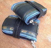 BUCKiT belts - upcycled bicycle tyre saddlebags