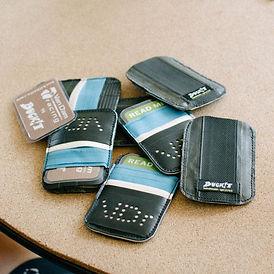 BUCK!T team-issue MICROcard wallet