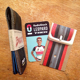 Choose the perfect BUCK!T eco-gift for someone special in our online store of handmade and upcycled bicycle tyre products