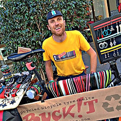 Buckit belts at the velo fringe and velo city global conference adelaide 2014