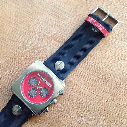 LAMBRETTA chronograph with black CorsaCX watchbelt