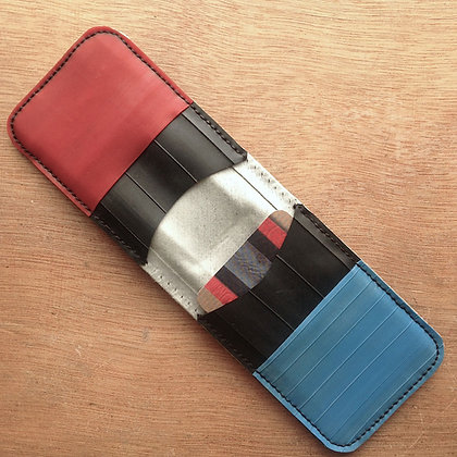 DOMESTIQUE MICROwallet (red/white/blue)
