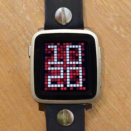 Pebble TIME steel (SILVER)