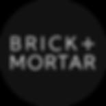 Brick + Mortar logo