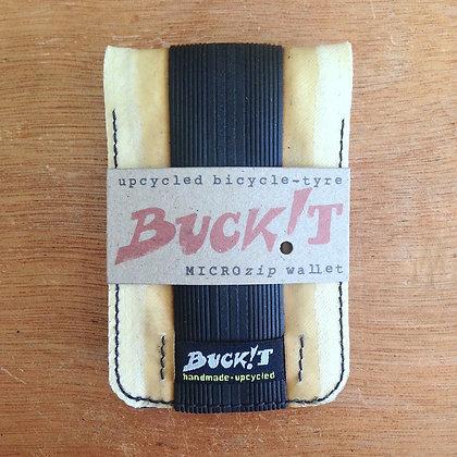 GRAPHENE+ tubular MICROplus wallet (cream/black/celeste)