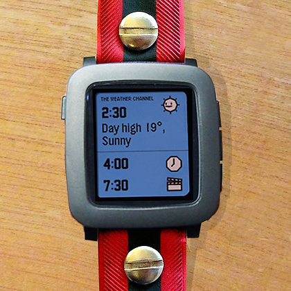 Pebble TIME (black)