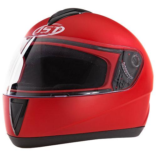 Kask integralny JST 200 czerwony motocyklowy skuter motor