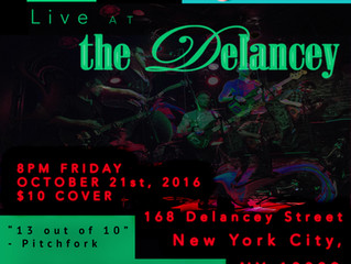 TDC @ The Delancey, NYC