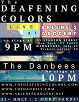 The Deafening Colors LIVE at Arlene's Grocery NYC