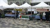 Needham's Market Garden booth at the Ottawa's Farmers Market.