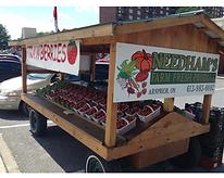 Needham's Market Garden strawberries for sale at our Arnprior roadside stand.