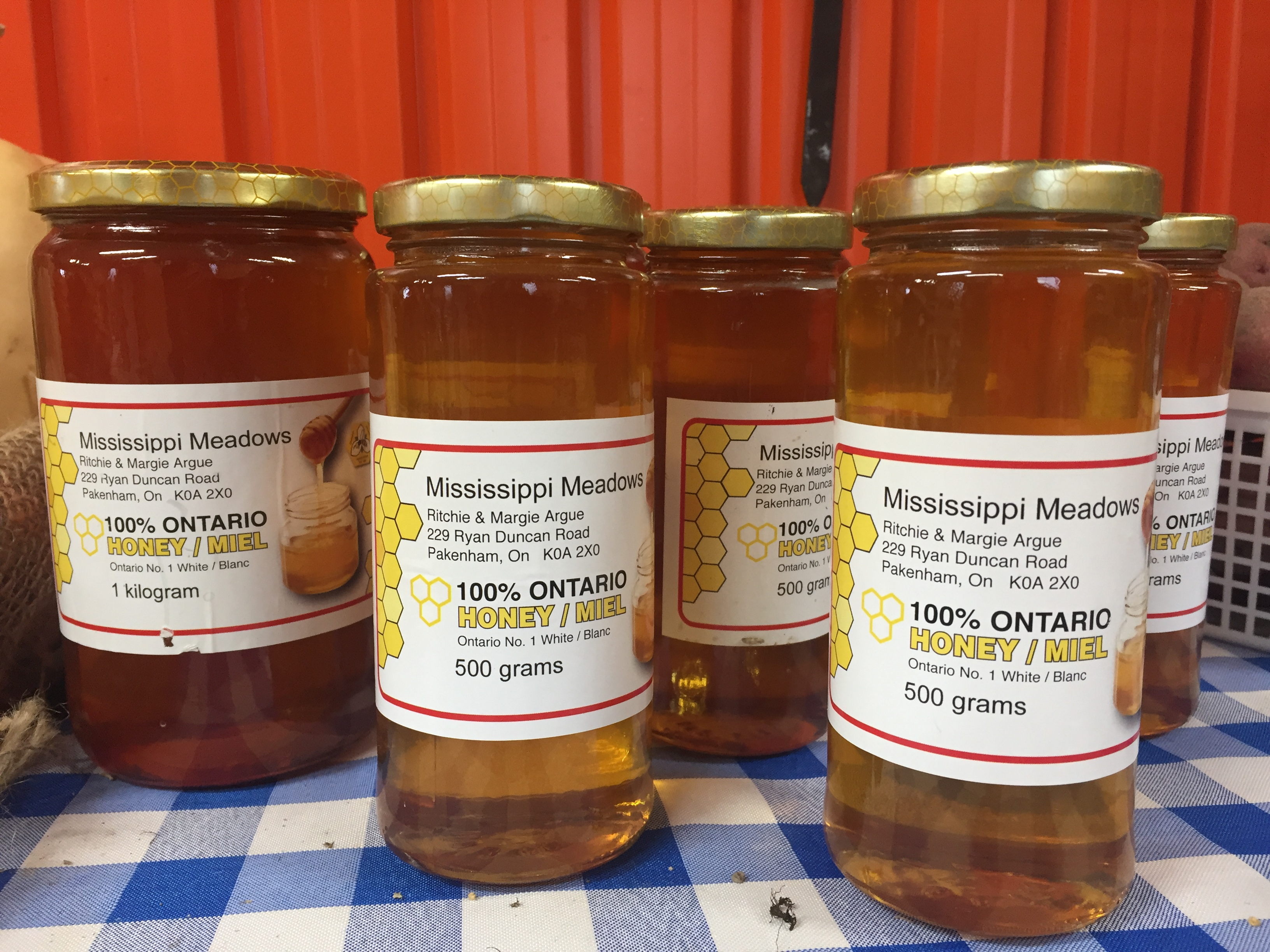 Mississippi Meadows Honey