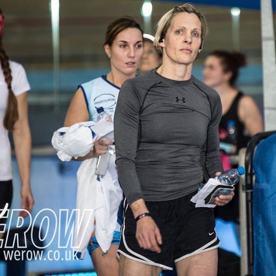 Feeling the 2KM on the erg-before and after with Sarah Gibbs