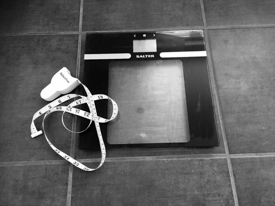 The measuring tape or scales?