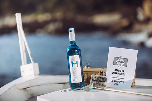 HOME VERMOUTH KIT - Vino Azul INCLUIDO