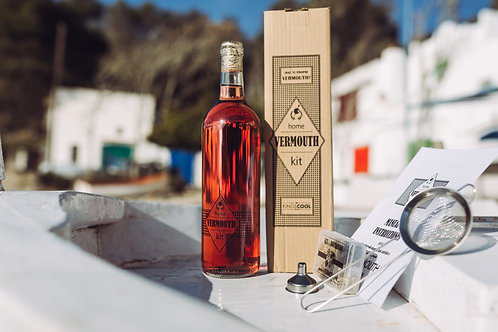 HOME VERMOUTH KIT - Vino Rosado INCLUIDO