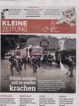 Kleine Zeitung 8.8.17 Cover